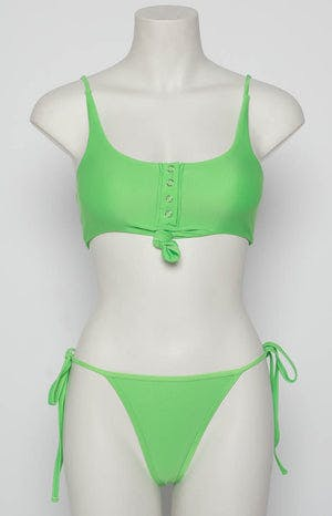 9.0 Swim Rio Bikini Set Lime Green