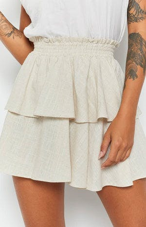 Abbey Skirt Beige