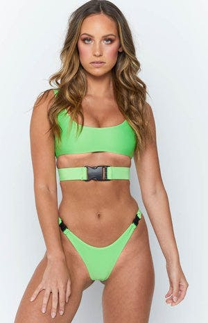 e6e46c155f 9.0 Swim Andros Bikini Set Lime Green