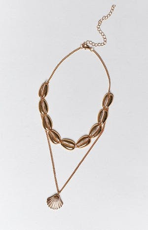 Eclat Moana Necklace Gold