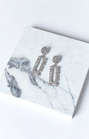 Eclat Convince Earrings Silver