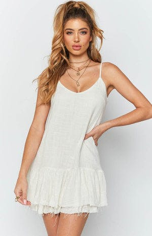 Isabel Dress White