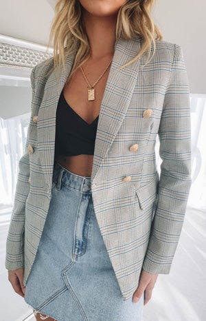 Lioness The Blair Blazer Check
