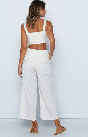 Novara Top White