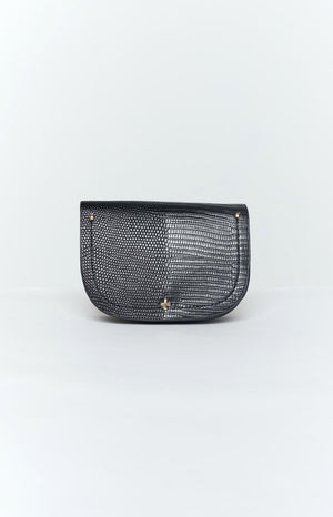 Peta & Jain Lexi Belt Bag Black Lizard