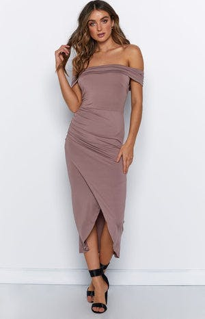 Sweet Talk Dress Mocha