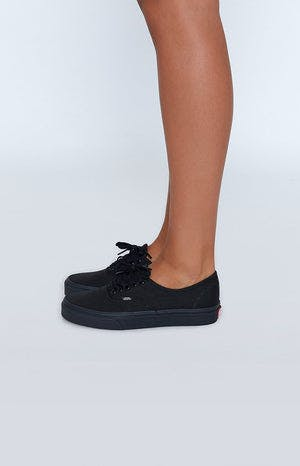 1d84f37972d23 Vans Authentic Sneakers Black