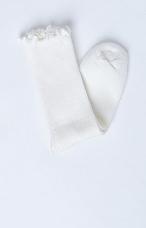 On The Run Socks White